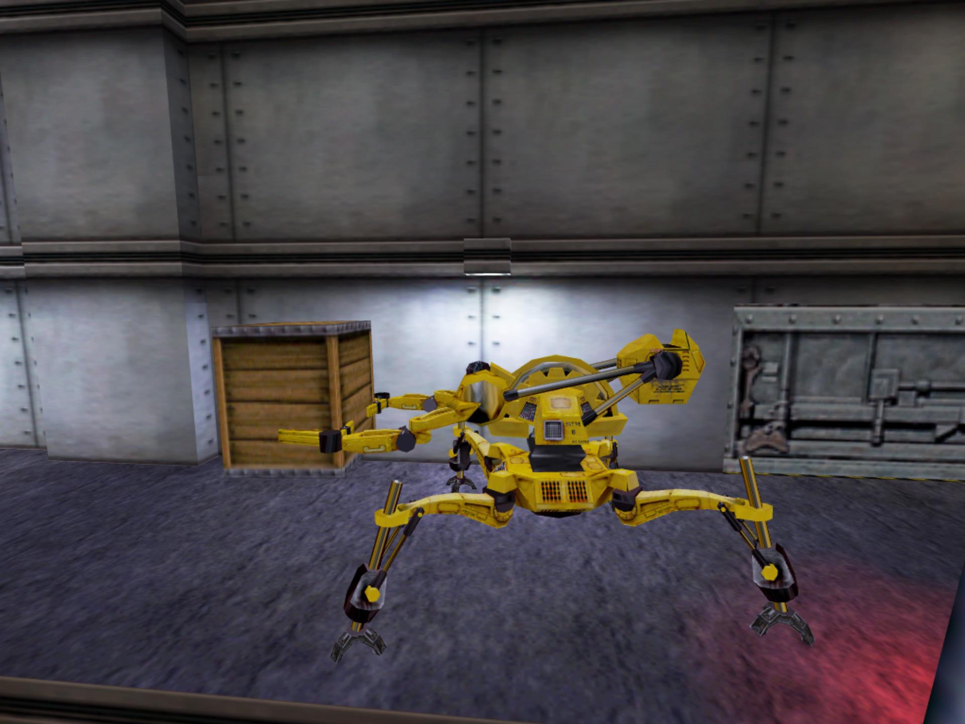 Half life spēles apskats: Roboti viņiem ir detalizēti